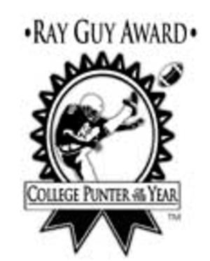 Ray Guy Award - Image: Ray Guy Award Logo