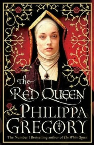 The Red Queen (Gregory novel) - First UK edition cover