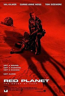 <i>Red Planet</i> (film) 2000 science fiction action film