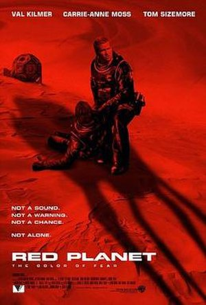 Red Planet (film) - Theatrical release poster