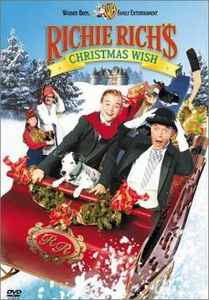 Richie Rich's Christmas Wish - DVD cover