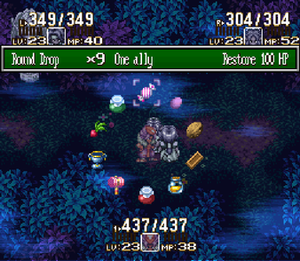 Mana (series) - The Mana series' Ring Command menu (from Seiken Densetsu 3)