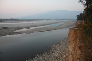 Bardia (Nepal) - River scene, Bardia National Park