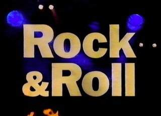 <i>Rock & Roll</i> (miniseries) 1995 American-British documentary miniseries