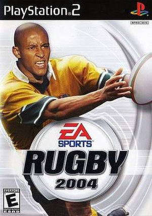 Rugby 2004 - Image: Rugby 2004 box art
