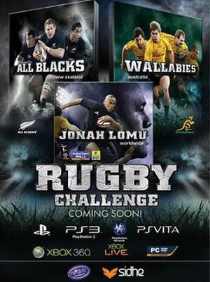 Rugby Challenge (video game) - Image: Rugby Challenge