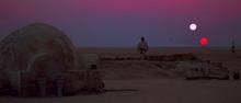 Tatooine, remember?