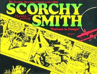 Noel Sickles - Noel Sickles' Scorchy Smith was collected in this 1977 book published by Nostalgia Press.