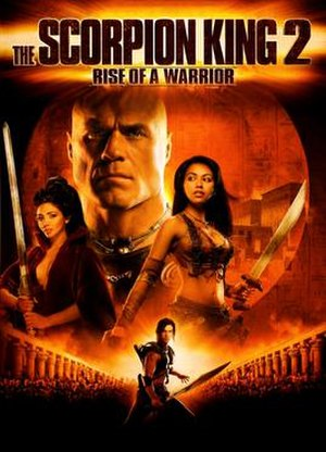 The Scorpion King 2: Rise of a Warrior - DVD release cover