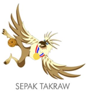 Sepak takraw at the 2005 Southeast Asian Games - Sepak Takraw at the 2005 Southeast Asian Games logo