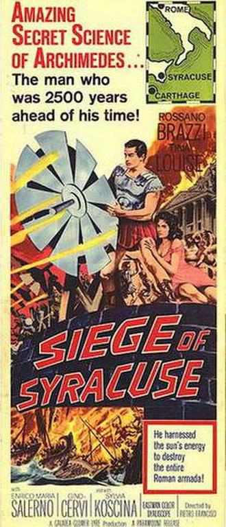 Siege of Syracuse (film) - Image: Siege of Syracuse (film)