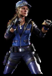 Sonya Blade Mortal Kombat character
