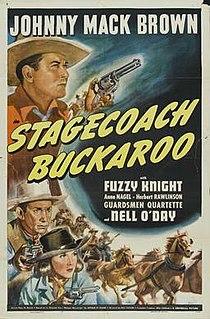 <i>Stagecoach Buckaroo</i> 1942 film by Ray Taylor
