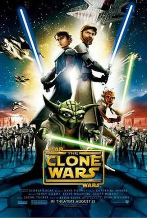 Star Wars: The Clone Wars (film) - Theatrical release poster