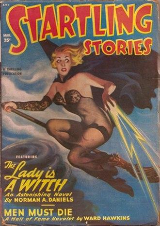 Startling Stories - Image: Startling Stories 1950 Mar cover
