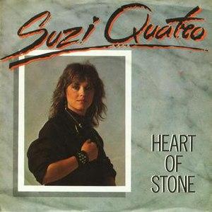 Heart of Stone (Suzi Quatro song) - Image: Suzi quatro heart of stone polydor 2