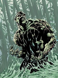 Swamp Thing Fictional character, an elemental creature in the DC Comics Universe