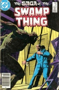 Swamp Thing (vol. 2) #21, February 1984, art b...