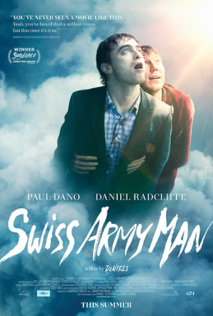 Swiss Army Man - Theatrical release poster