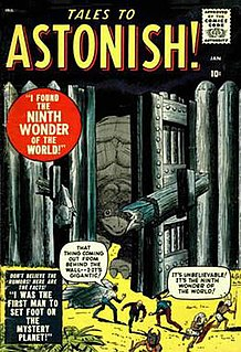 <i>Tales to Astonish</i> comic