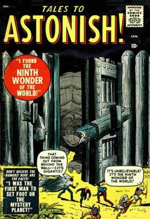 Tales to Astonish - Image: Tales astonish 001