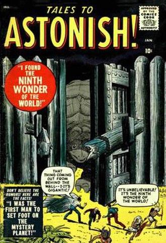 Tales to Astonish - Image: Tales astonish 001