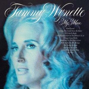 My Man (album) - Image: Tammy Wynette My Man