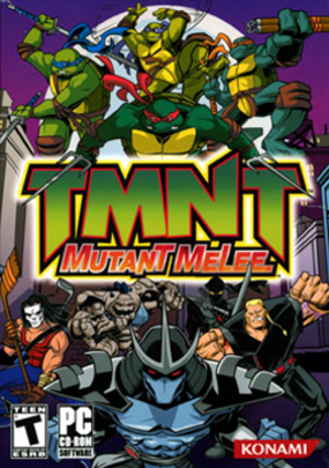 Teenage Mutant Ninja Turtles: Mutant Melee - North American PC cover art