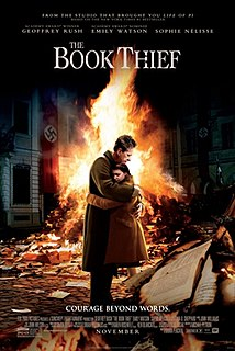 <i>The Book Thief</i> (film) 2014 film by Brian Percival