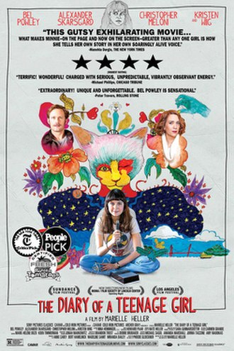 The Diary of a Teenage Girl - Theatrical release poster