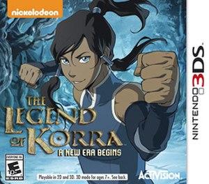 The Legend of Korra: A New Era Begins - Image: The Legend Of Korra 3DS