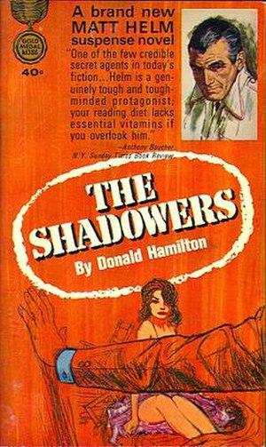 The Shadowers - Original 1964 paperback cover