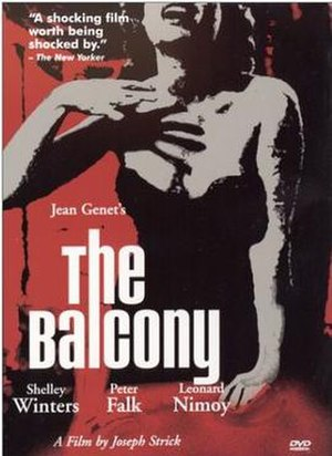 The Balcony (film) - Cover art for 2000 DVD release