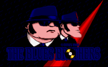 The Blues Brothers video game intro screen