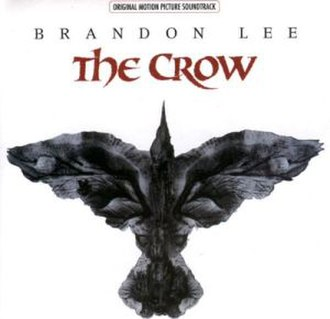 The Crow: Original Motion Picture Soundtrack - Image: The Crow soundtrack album cover