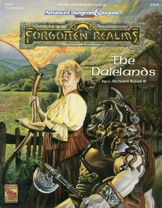 The Dalelands - Image: The Dalelands (D&D manual)