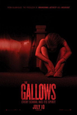 The Gallows - Theatrical release poster