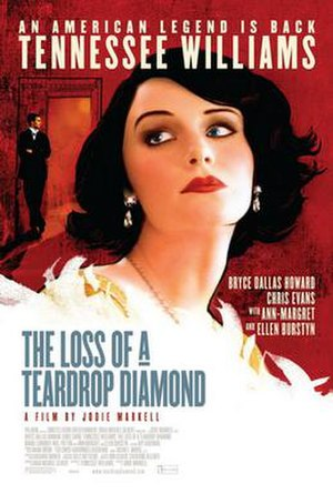 The Loss of a Teardrop Diamond - Theatrical release poster