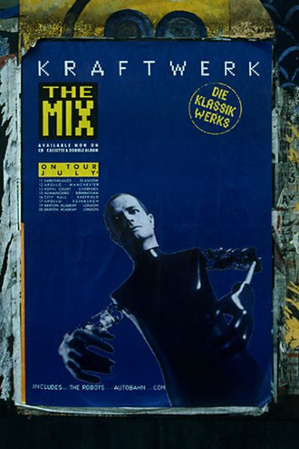 The Mix (Kraftwerk album) - Promotional poster for The Mix