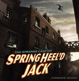 The Springheel Saga - Image: The Springheel Saga series 1 teaser image by Jamie Egerton
