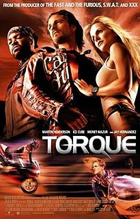 <i>Torque</i> (film) 2004 film directed by Joseph Kahn