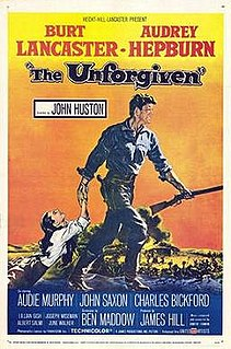 <i>The Unforgiven</i> (1960 film) 1960 American western film directed by John Huston
