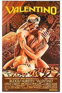 <i>Valentino</i> (1977 film) 1977 Biopic by Ken Russell