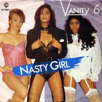Nasty Girl (Vanity 6 song) - Image: Vanity 6 Nasty Girl