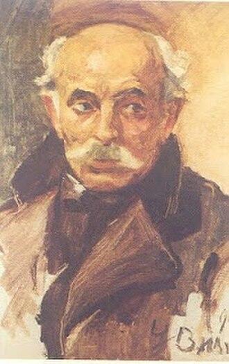 Vasileios Hatzis - Vasileios Hatzis by George Bouzianis (1913)