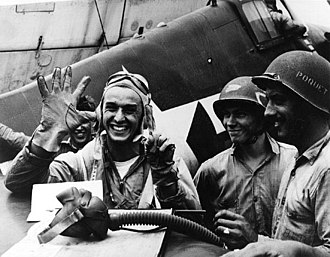 Battle of the Philippine Sea - Lt. Alexander Vraciu downed six Japanese dive bombers in a single mission, June 19, 1944.