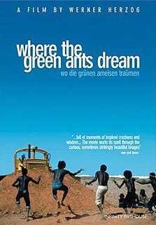 <i>Where the Green Ants Dream</i> 1984 West German film