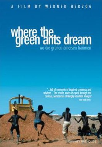 Where the Green Ants Dream - R1 DVD release cover.