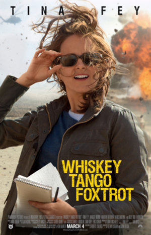 Whiskey Tango Foxtrot (film) - Theatrical release poster