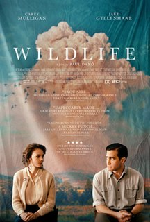 <i>Wildlife</i> (film) 2018 American drama film directed by Paul Dano